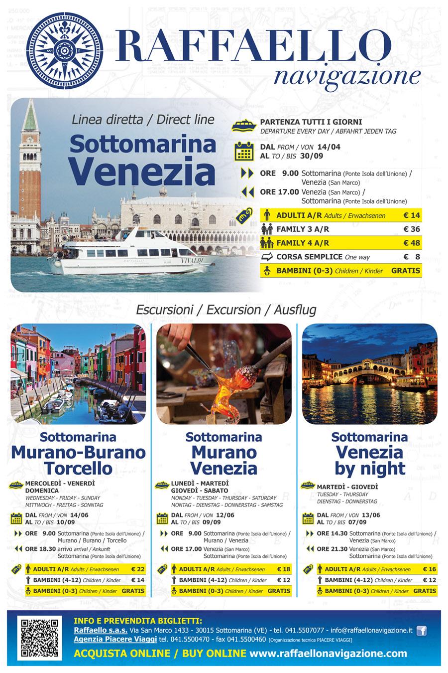 Escursioni a Venezia da Chioggia e Sottomarina